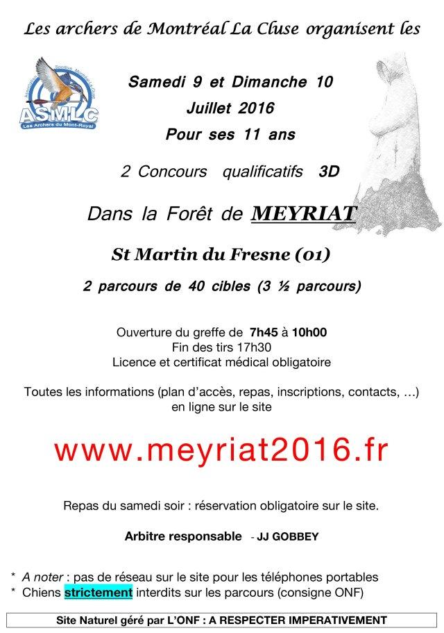 mandat Concours Meyriat 2016